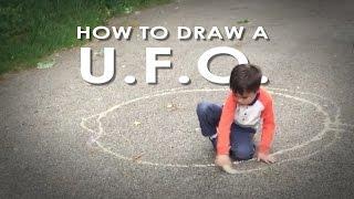 How to Draw a U.F.O.