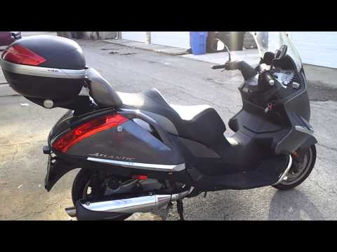 125 aprilia atlantic 2011 videos custom. Black Bedroom Furniture Sets. Home Design Ideas