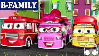 Nonton [B-FAMILY] Wheels on the Bus and More Songs | Muffin Songs Film Subtitle Indonesia Streaming Movie Download