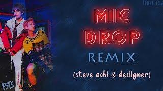 BTS (방탄소년단) - MIC Drop (Steve Aoki Remix) (Feat. Desiigner) [Lyrics Han|Rom|Eng]