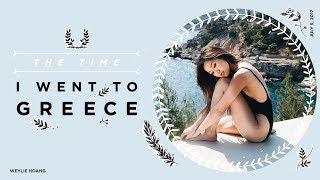 My first time in Greece! What a beautiful place! Thank you Folli Follie for showing me around and sponsoring this video! Please subscribe  http://goo.gl/FDy4HL ...