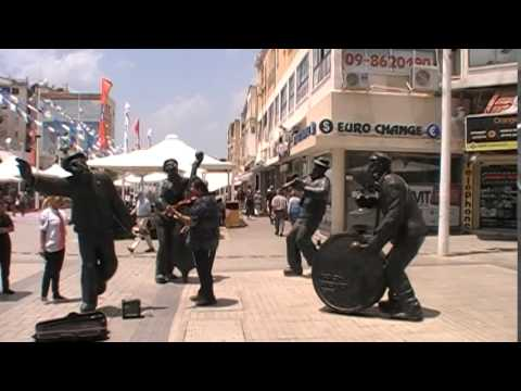 Simcha at the Netanya Kikar 2015 (видео)