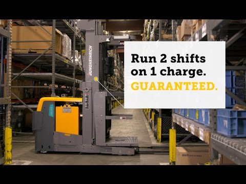 Jungheinrich® High-Level Order Picker Product Video