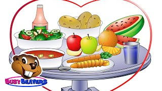 """""""The Food Song"""" (Level 2 English Lesson 10) CLIP - Healthy Food, Educational Song, Kids Education"""
