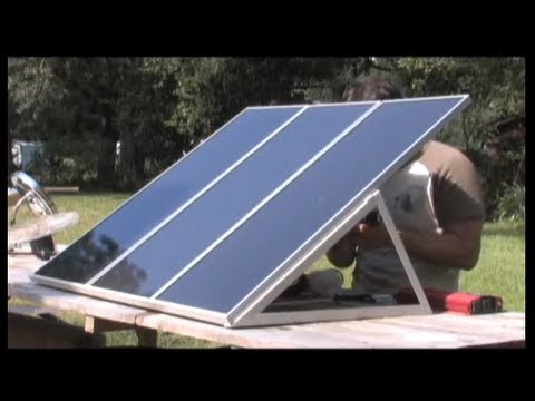 Solar Power, DIY Solar Power Training  PV PHOTOVOLTAIC Harbor freight Free ENERGY Photovoltaic KITS