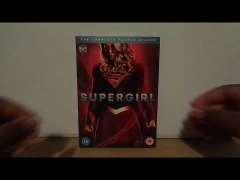 Supergirl Season 4 (UK) DVD Unboxing