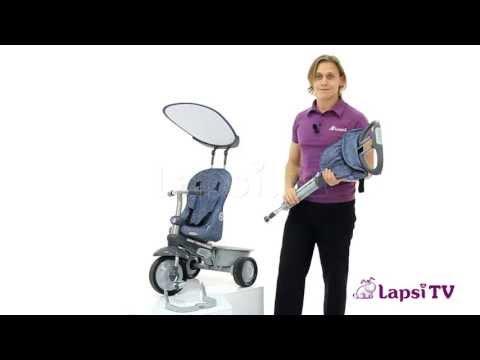 Трехколесный велосипед 4 в 1 smart trike recliner stroller фотка