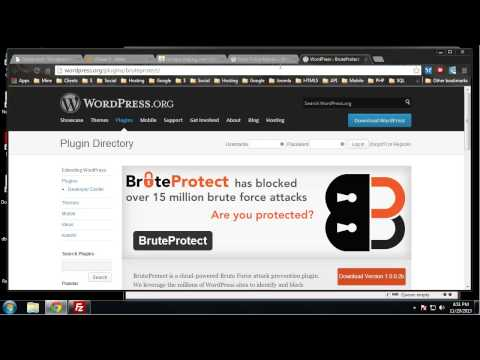 Learn Complete Wordpress Security - Chapter 13 - Protect Against Brute Force