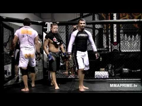 Inside Shawn Tompkins Camp at TapouT Training Center training for UFC 122