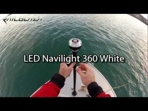 RAILBLAZA LED Navilight 360 White
