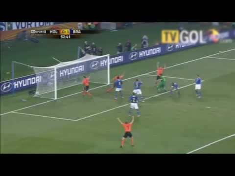 53 – Wesley Sneijder: Netherlands v Brazil 2010 – 90 World Cup Minutes In 90 Days