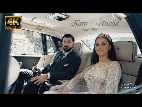 Karo + Anahit's 4K UHD Wedding feature film 15min version 06 08 2019