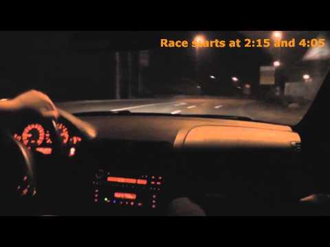 BMW E46 325i VS SUBARU BRZ  100 to 200 kmh  #HD