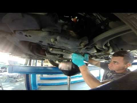 Pontiac G6 GT Trans Fluid and Filter Change time lapse GoPro