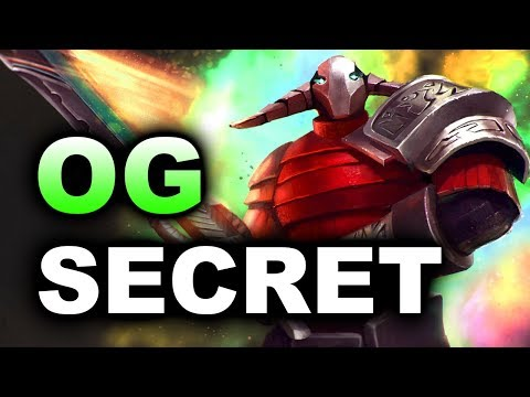 SECRET vs OG - AMAZING SERIES! - DreamLeague 8 Major 7.07 DOTA 2