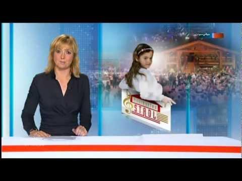 Der MDR Sachsenspiegel berichtet ausführlich über Sissis ersten großen Fernsehauftritt beim Musikantenstadl.