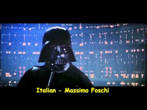 Darth Vader  s  I Am Your Father  in 20 Different Languages