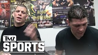 Diaz Brothers Talking About Conor McGregor | TMZ Sports