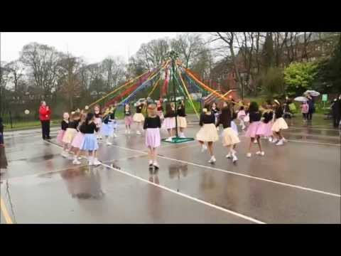 Bolton School Junior Girls' Spring Fair - Maypole Dancing