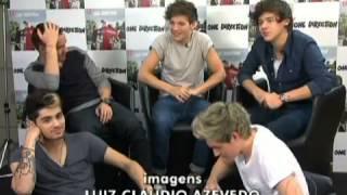 Entrevista do One Direction ao Fantástico/Interview for Fantástico 2012 #2