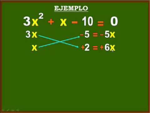 Vídeos Educativos.,Vídeos:Ecuación de 2º grado