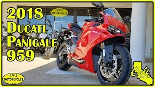 4. 2018 Ducati Panigale 959 Review