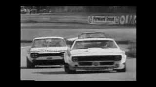 The 1971 British Saloon Car Championship racing at the Crystal Palace circuit.