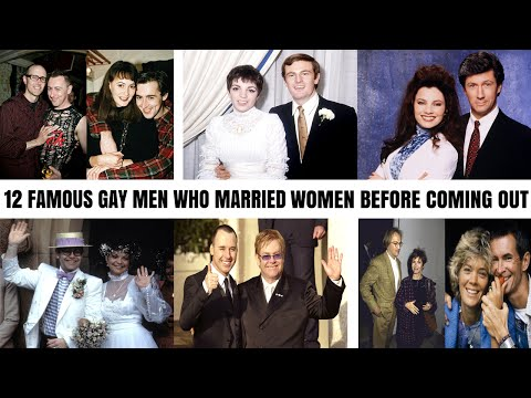 12 Famous Gay Men Who Married Women Before Coming Out As Gay (видео)