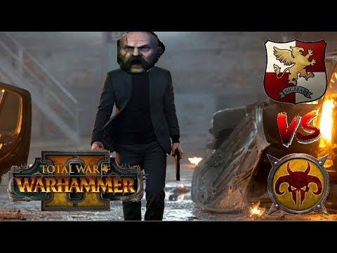 Empire vs Beastmen   VOLKMAR'S FREE COMPANY : Total War Warhammer 2