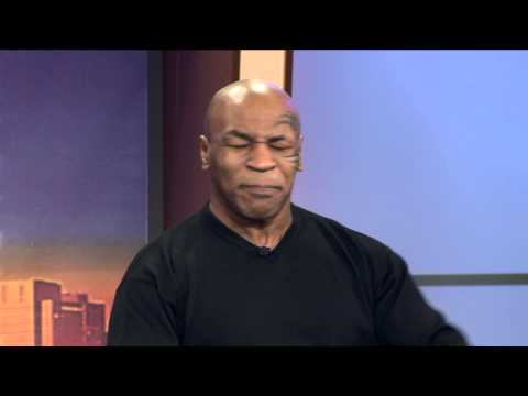 Mike Tyson Re-enacts Biting Off The Ear on WGN Morning News Video