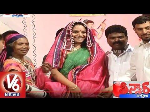 Janapada Jathara   MP Kavitha attended to Closing Ceremony held in Ravindra Bharathi - Teenmaar News 02 September 2015 02 28 AM