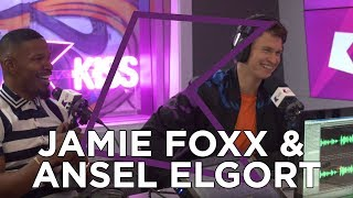 Video Jamie Foxx and Ansel Elgort talk Baby Driver, Kanye West, Frank Ocean & more! MP3, 3GP, MP4, WEBM, AVI, FLV April 2018