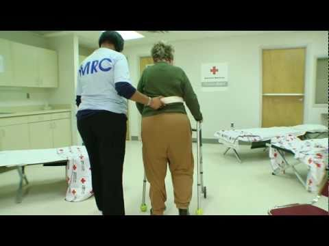 Training for Volunteers in Disaster Shelters: How to Use a Gait Belt