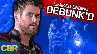 Video The Ending Of Marvel Avengers Endgame Leaked? Theory Debunked MP3, 3GP, MP4, WEBM, AVI, FLV Maret 2019