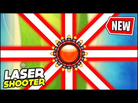 "BRAND NEW ""RING OF LASERS"" UPGRADE FOR THE LASER MONKEY // Bloons TD Battles Mods"
