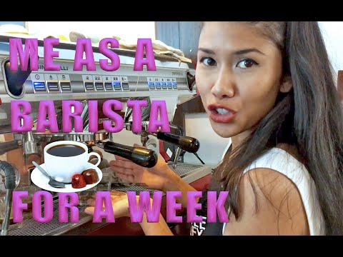 I'M A TERRIBLE BARISTA!! Episode 1 - Work Experience at Coffee Alley Coffee Shop | Vlog Video #31