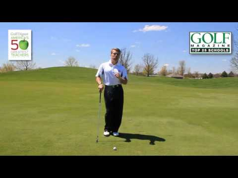 Golf Lesson: Setting up a Pre-Shot Routine for Better Focus