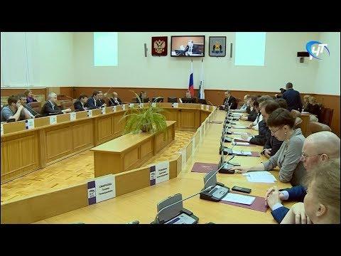 Состоялось внеочередное заседание Думы Великого Новгорода