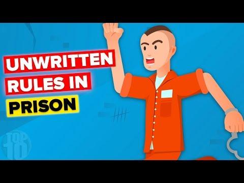 10 Unwritten Rules In Prison