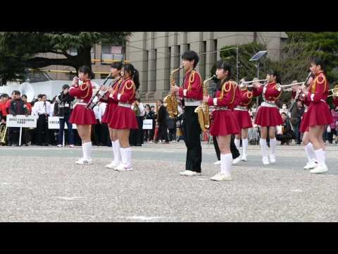 宇陀市立榛原中学校 @ 京都さくらパレード2017 交歓コンサート