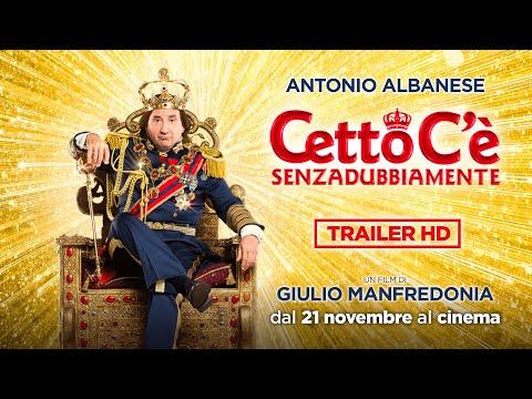 Preview Trailer Cetto c'è, senzadubbiamente, trailer ufficiale del film con Antonio Albanese e Caterina Shulha