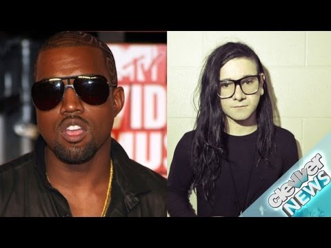 Kanye West and Skrillex Collaborate on New Music!
