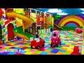 Naik mobil mainan anak & mandi Bola Balon yang banyak Sekali & perosotan asik sekali bersama teman