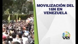 EN VIVO - Movilización del 16N en Venezuela