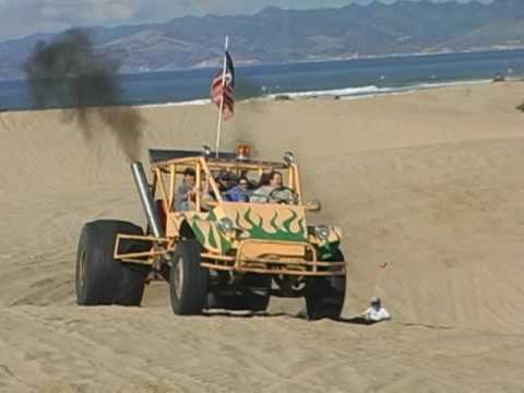 pismo - This is A FL120 Diesel truck transformed into massive sand buggy. It seats 8 and weighs about 15000 lbs empty!