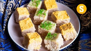 1000 pieces of Indian Burfi - For a wedding! #CelebrateWithSORTED #Ad by SORTEDfood
