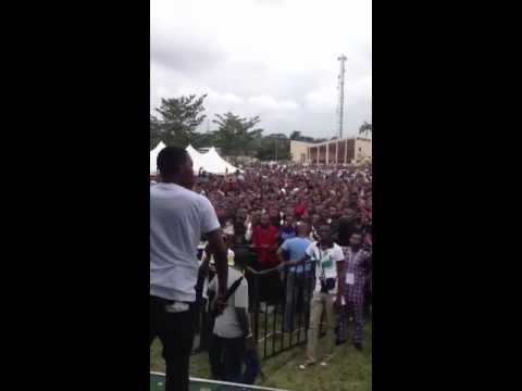 Olamide At Cliqfest In Ibadan Poly