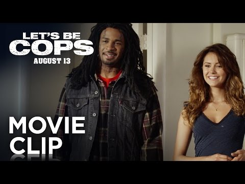 "Let's Be Cops | ""That's Handsome"" Red Band Clip [HD] 