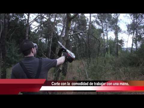 Potente y ligera motosierra de poda ,adquierala en www.maquinariadejardineria.net 692829022