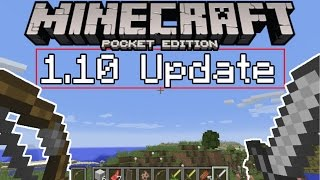 "MCPE 1.10 UPDATE ""DUAL WIELDING"" FEATURE! Minecraft Pocket Edition Dual Wielding Combat 1.10 Update"